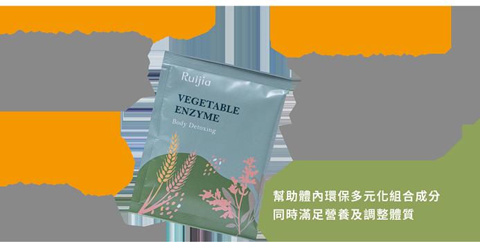 vegetable enzyme ingredients