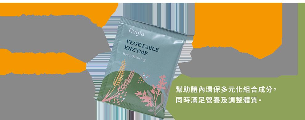 Ruijia露奇亞 排空綠酵素_主要成分功效