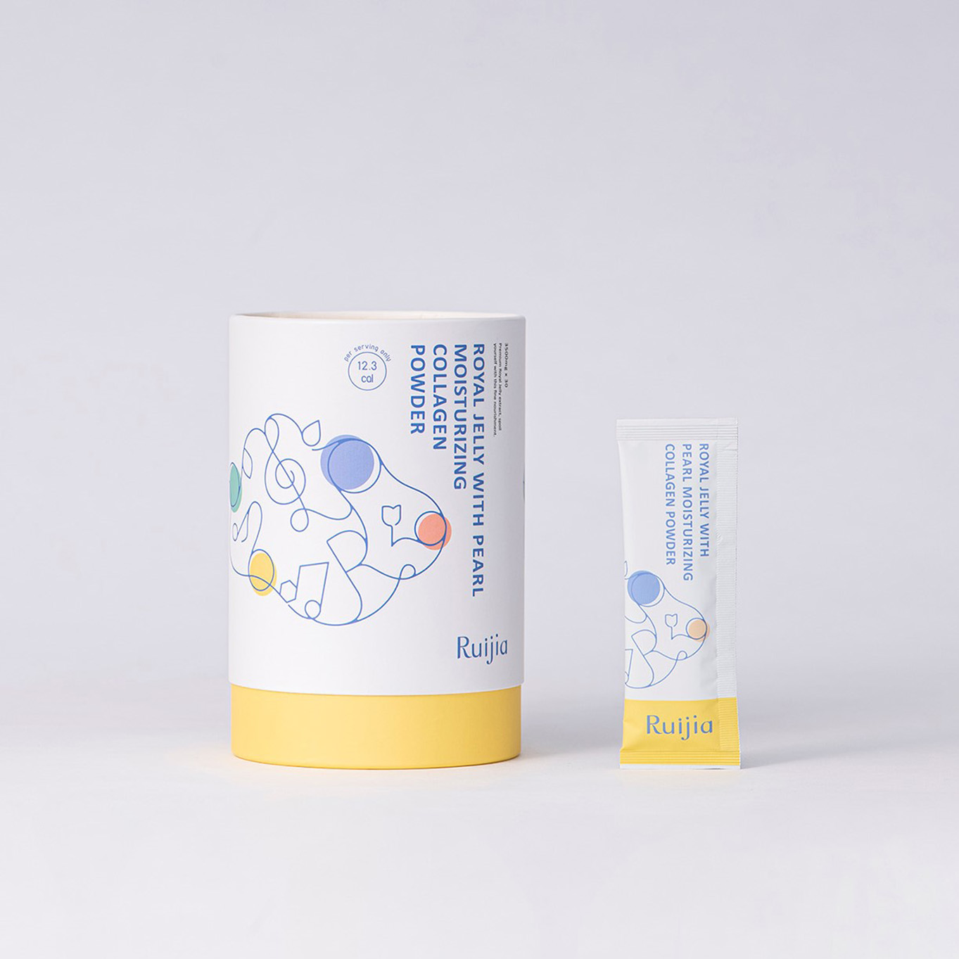 蜂王胜肽新生膠原蛋白粉(30日份) Royal Jelly With Pearl Moisturizing Collagen Powder