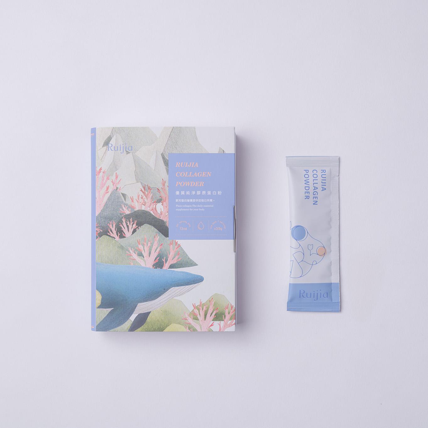 優質純淨膠原蛋白粉(7日份) Ruijia Collagen Powder